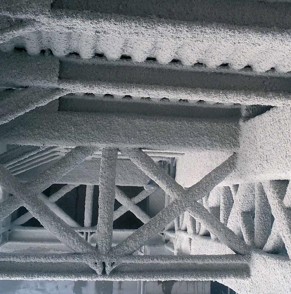 Ignifugacion de estructuras metalicas