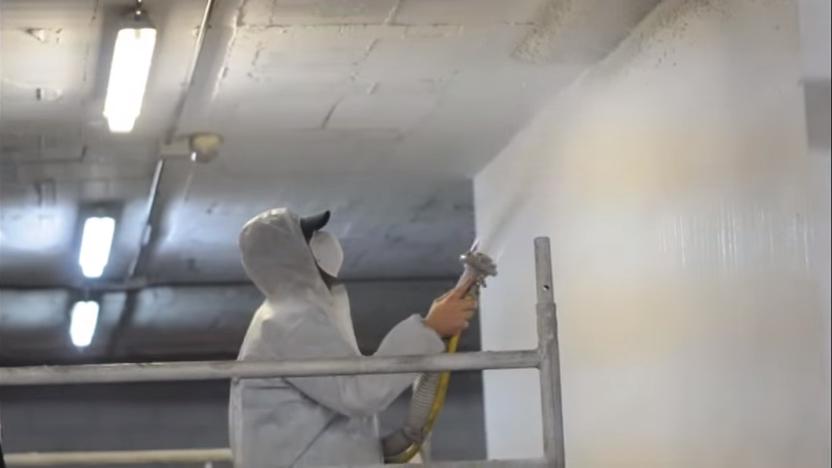 Ignifugación de techos y forjados en Barcelona