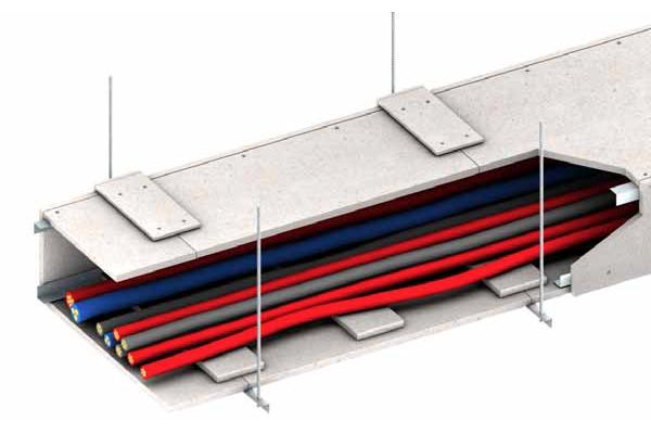 Ignifugación de conductos de cables eléctricos