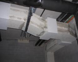 Proteccion de conductos con placas de silicatos