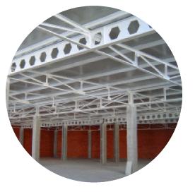 Ignifugación con pintura intumescente de estructuras metálicas