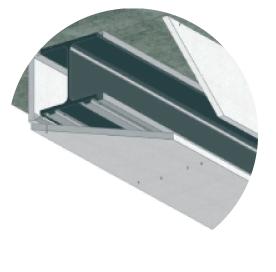 Trasdosados y divisiones ignífugas con placa de silicatos