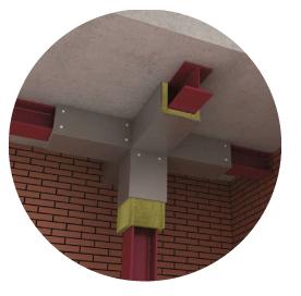 Ignifugación ignifugo estructuras metálicas