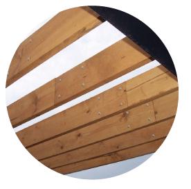Ignifugacion / Proteccion contra el fuego de estructuras de madera