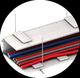 Ignifugació de conductes para cables amb plaques de silicat