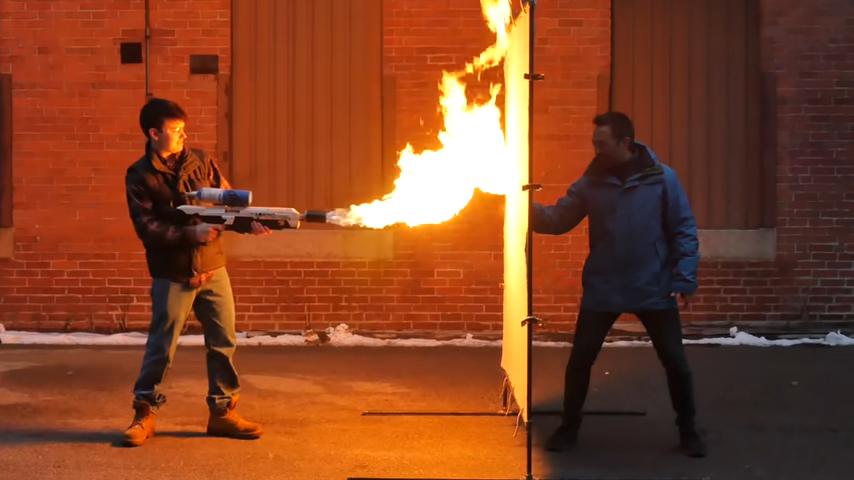 Proteccion contra incendios con aerogel